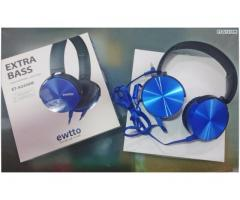 Audifono Ewtto Extrabass Et-a2450m Handsfree Android Iphone