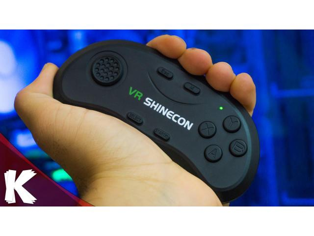 GAMEPAD BLUETOOTH VR SHINECON, PARA ANDROID, IOS, PC. - 1/3