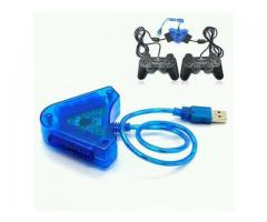 ADAPTADOR CONTROLES PS2 PARA PC