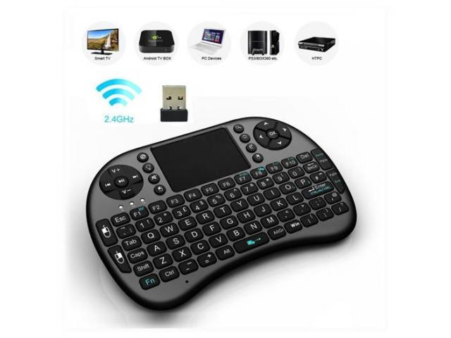 MINI TECLADO INALÁMBRICO PARA TV- BOX, SMART TV, PC, PLAY3, XBOX. - 1/1