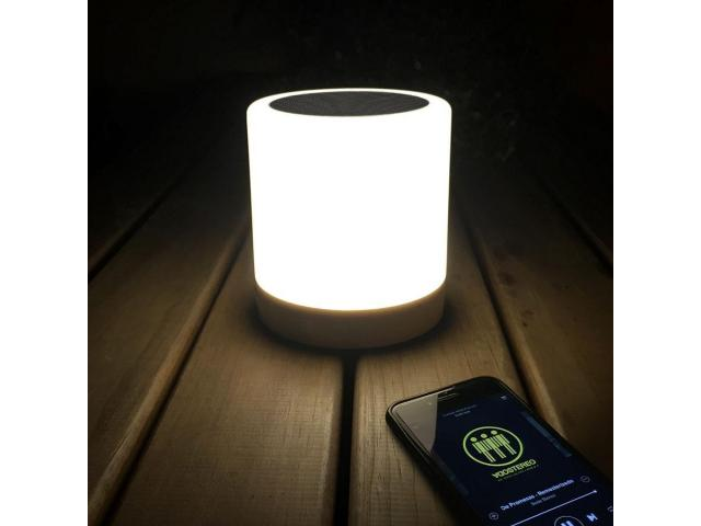 PARLANTE BLUETOOTH LUZ LED SUPER SOUND LAMPARA COLGANTE - 2/2