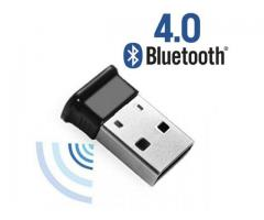 ADAPTADOR USB BLUETOOTH 4.0 PARA PC, LAPTOP