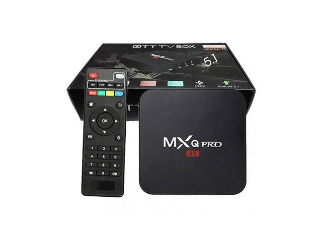 ANDROID TV-BOX QUAD CORE 4K H265 - 1/2