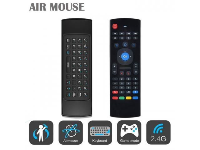 M3 Air Mouse Teclado para Smart TV, Android TV Box, PC Win 7,8,10 - 1/1