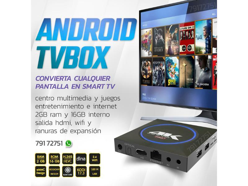 tvbox android convierta su tv en smart - 1/2