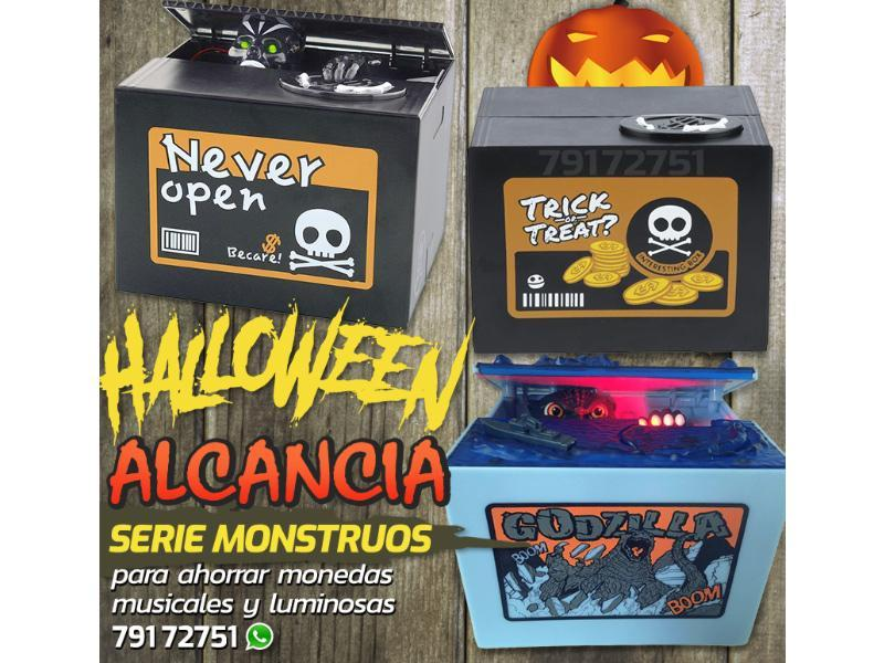 alcancia de halloween come monedas - 1/1
