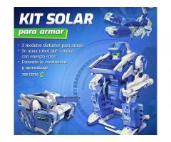 Kit solar - educativo para armar