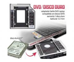 Adaptador Bahía Dvd - Disco Duro Laptop