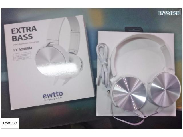 Audifono Ewtto Extrabass Et-a2450m Handsfree Android Iphone - 1/3