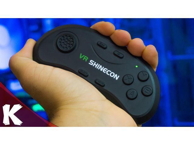 GAMEPAD BLUETOOTH VR SHINECON, PARA ANDROID, IOS, PC. - 1/3