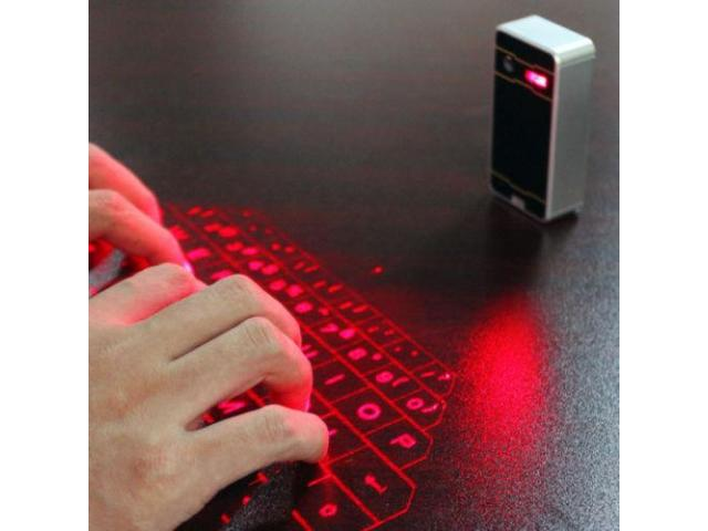 Teclado Virtual Láser Android Ios PC Bluetooth - 1/2