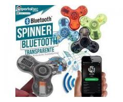 Spinner Bluetooth Luminoso Transparente