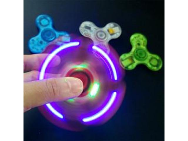 Spinner Bluetooth Luminoso Transparente - 2/2