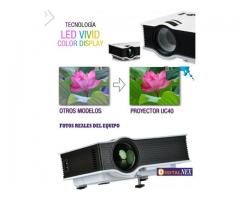 Mini Proyector Led 800 Lumens Hdmi Usb 1080P