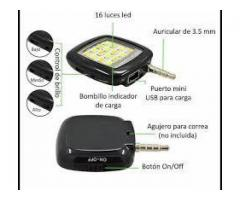 Flash Led Para Smartphone (android, Iphone) - Color Negro
