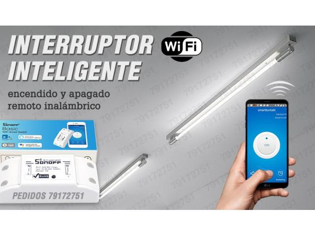 INTERRUPTOR SWITCH INTELIGENTE INALAMBRICO REMOTO - 1/1