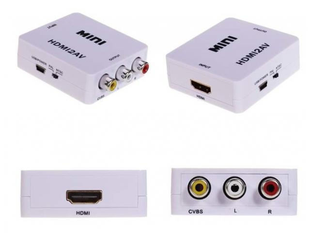 Conversor HDMI a RCA - 2/2