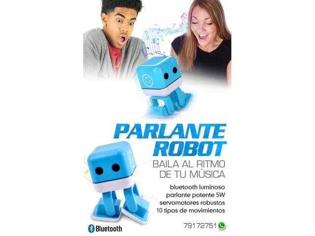 Robot Parlante Bluetooth Bailarin - 1/1