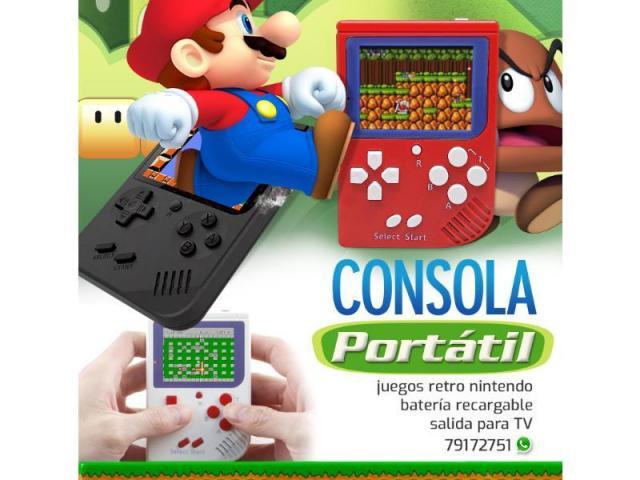 Mini Gameboy Consola con 188 Juegos de NES - 1/1