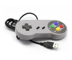 Gamepad Control Super Nintendo USB Pc, Retropie, Android