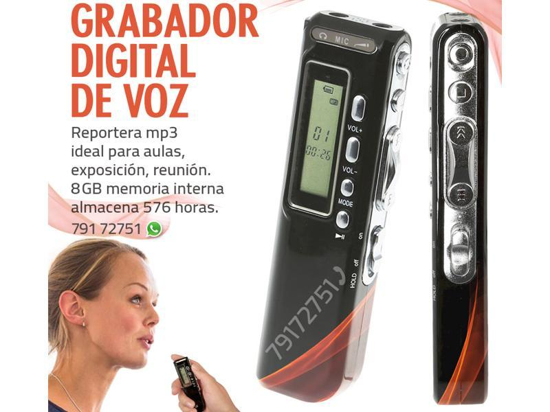 Grabador digital de voz - Reportera mp3 - 1/1