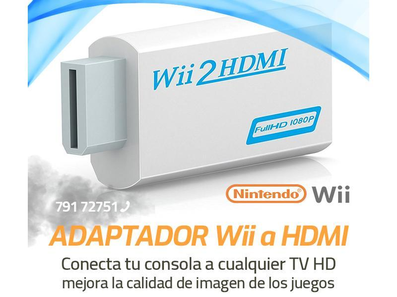 Adaptador video nintendo wii a HDMI - 1/2