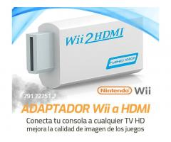 Adaptador video nintendo wii a HDMI