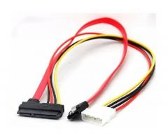Cable SATA Power y Datos 15 + 7